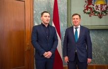 Kohtumine Läti juristide liidu esindajatega