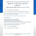 Kutse konverentsile 06.04.2017